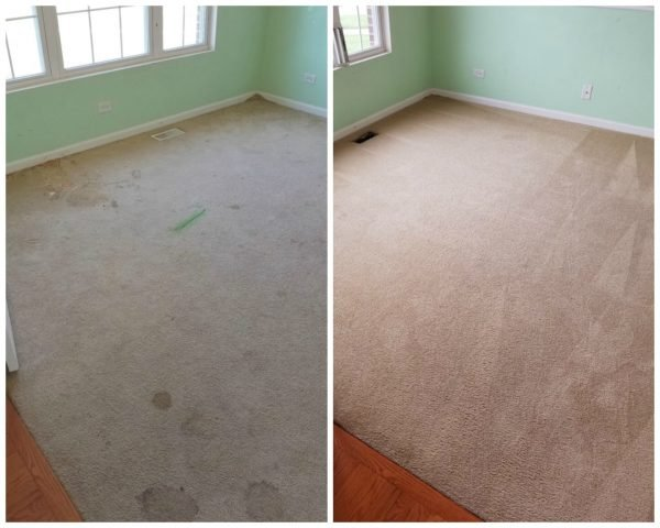 aurora carpet cleaning before after
